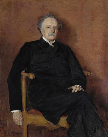 Order Painting Copy : The Reverend Matthew Blackburne Grier, 1892 by Cecilia Beaux (1855-1942, United States) | ArtsDot.com