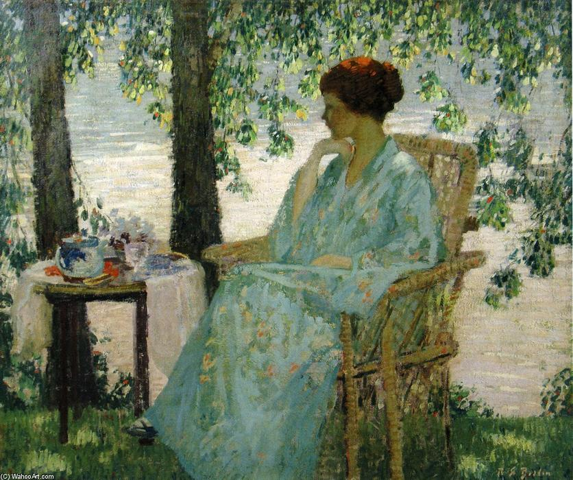 Reverie, Oil On Canvas by Rae Sloan Bredin (1880-1933, United States)