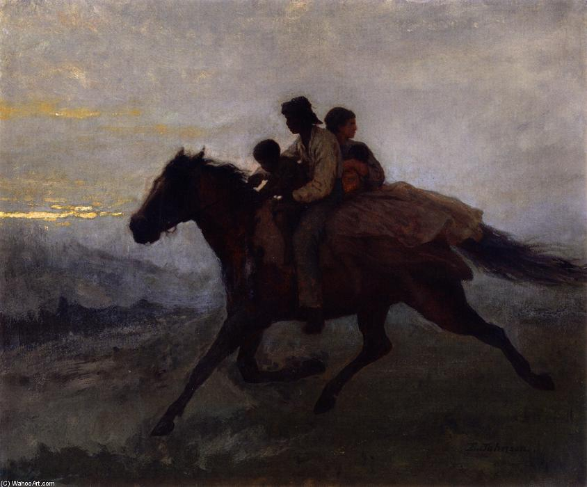 A Ride for Liberty - The Fugitive Slaves, 1862 by Jonathan Eastman Johnson (1824-1906, United Kingdom) | Oil Painting | ArtsDot.com