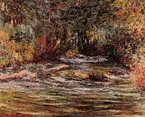 Claude Monet - The River Epte at Giverny