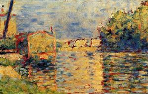 Georges Pierre Seurat - River's Edge