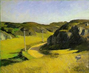 Edward Hopper - Road in Maine