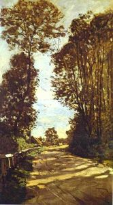 Claude Monet - Road to the Saint-Simeon Farm