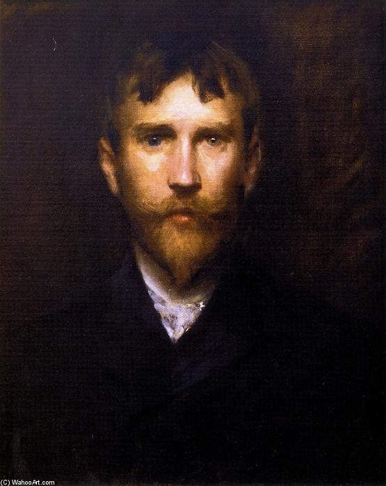 Robert Blum, Oil On Canvas by William Merritt Chase (1849-1916, United States)
