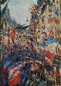 Claude Monet - The Rue Saint-Denis, 30th of June 1878