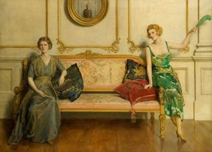 John Maler Collier - Sacred and Profane Love