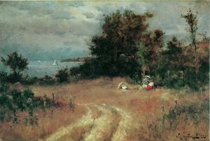Willard Leroy Metcalf - Sandy Hollow, Manchaset