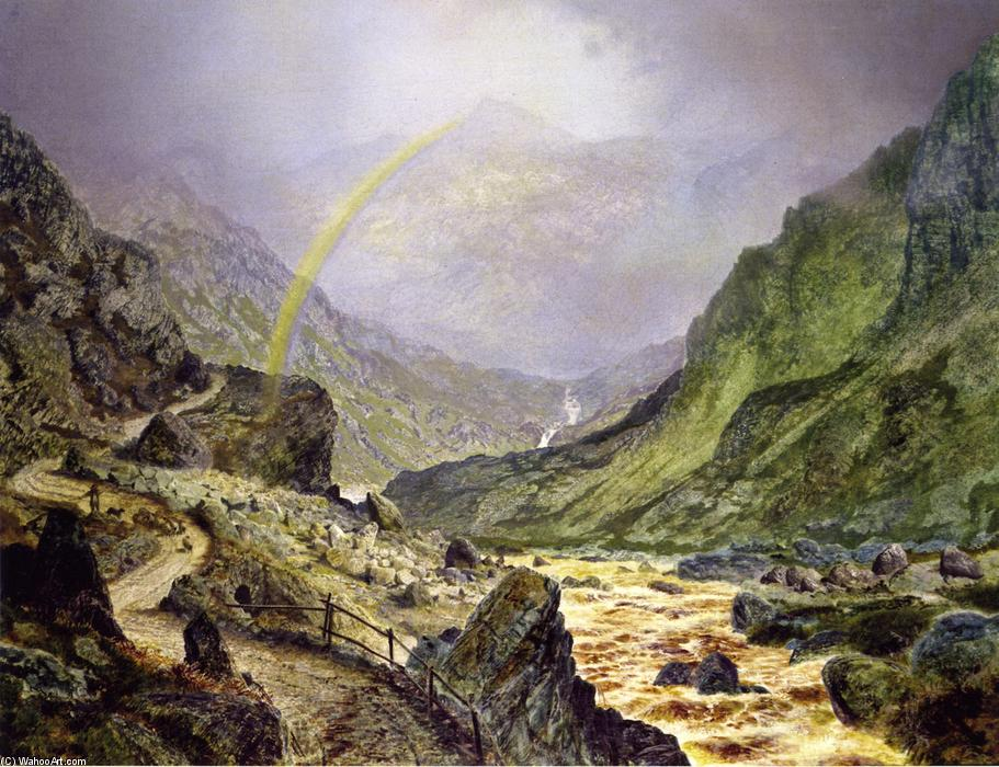 The Seal of the Covenant, Oil On Canvas by John Atkinson Grimshaw (1836-1893, United Kingdom)