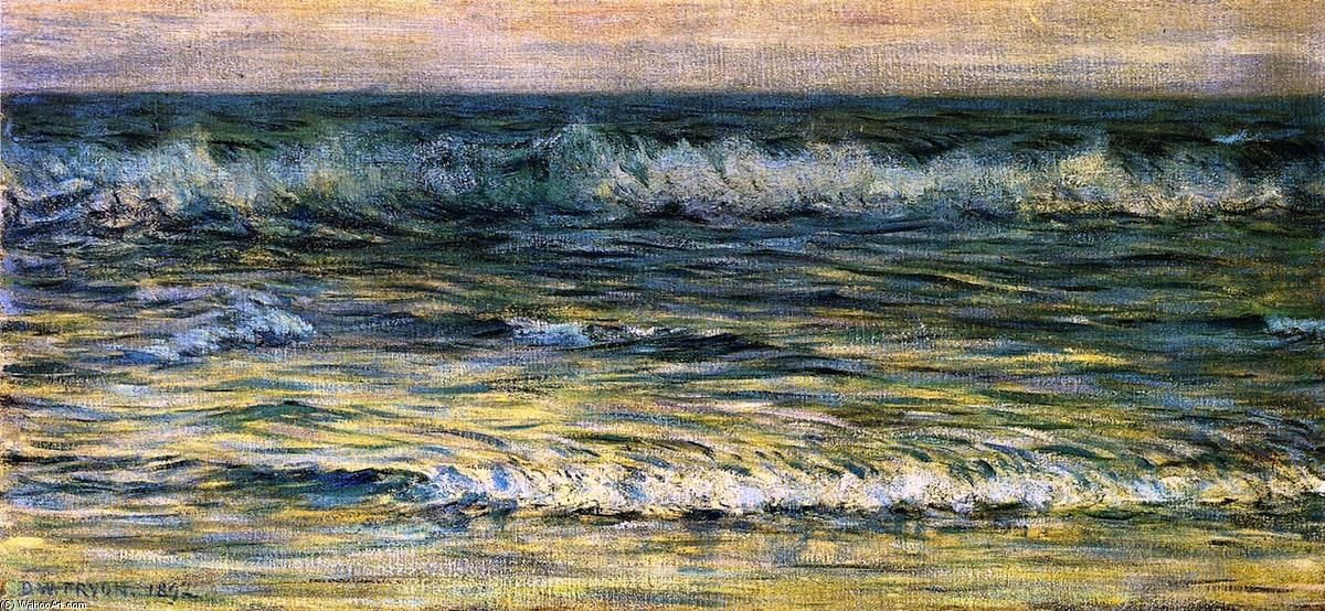 Order Art Reproduction : The Sea: Morning, 1892 by Dwight William Tryon (1849-1925, United States) | ArtsDot.com