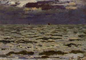 Claude Monet - Seascape
