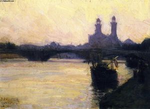 Henry Ossawa Tanner - The Seine