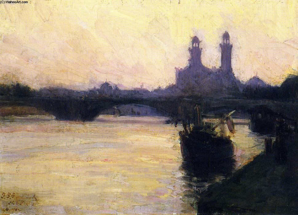 The Seine, 1902 by Henry Ossawa Tanner (1859-1937, United States) | ArtsDot.com