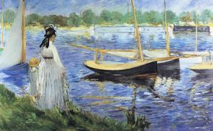 Edouard Manet - The Seine at Argenteuil