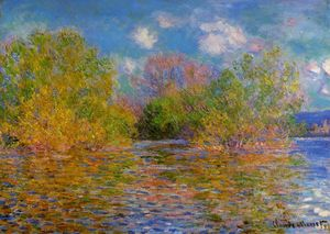 Claude Monet - The Seine near Giverny