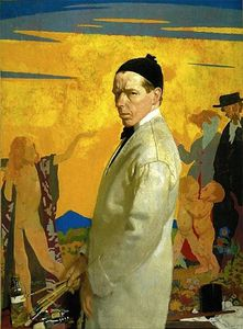 William Newenham Montague Orpen - Self portrait