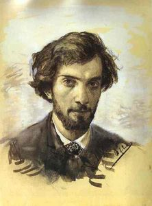 Isaak Ilyich Levitan - Self-portrait