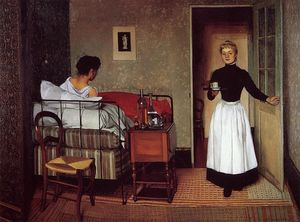 Felix Vallotton - The Sick Girl