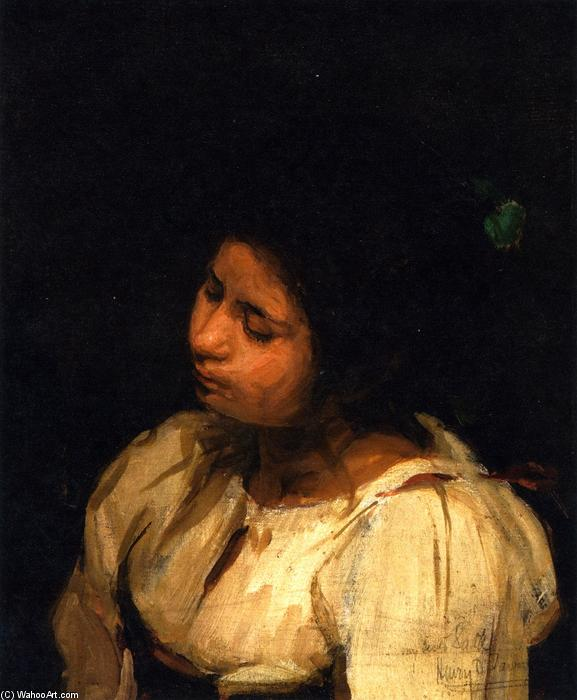Sister Sarah, 1881 by Henry Ossawa Tanner (1859-1937, United States) | Museum Quality Reproductions | ArtsDot.com