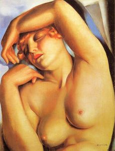 Tamara De Lempicka - Sleeping Girl