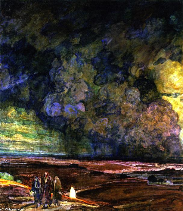 Sodom and Gomorrah, 1920 by Henry Ossawa Tanner (1859-1937, United States) | Oil Painting | ArtsDot.com