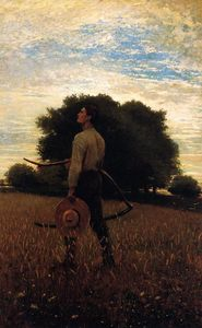 Winslow Homer - Song of the Lark (also known as In the Field)