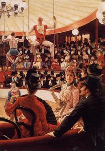 James Jacques Joseph Tissot - The Sporting Ladies (also known as The Amateur Circus)