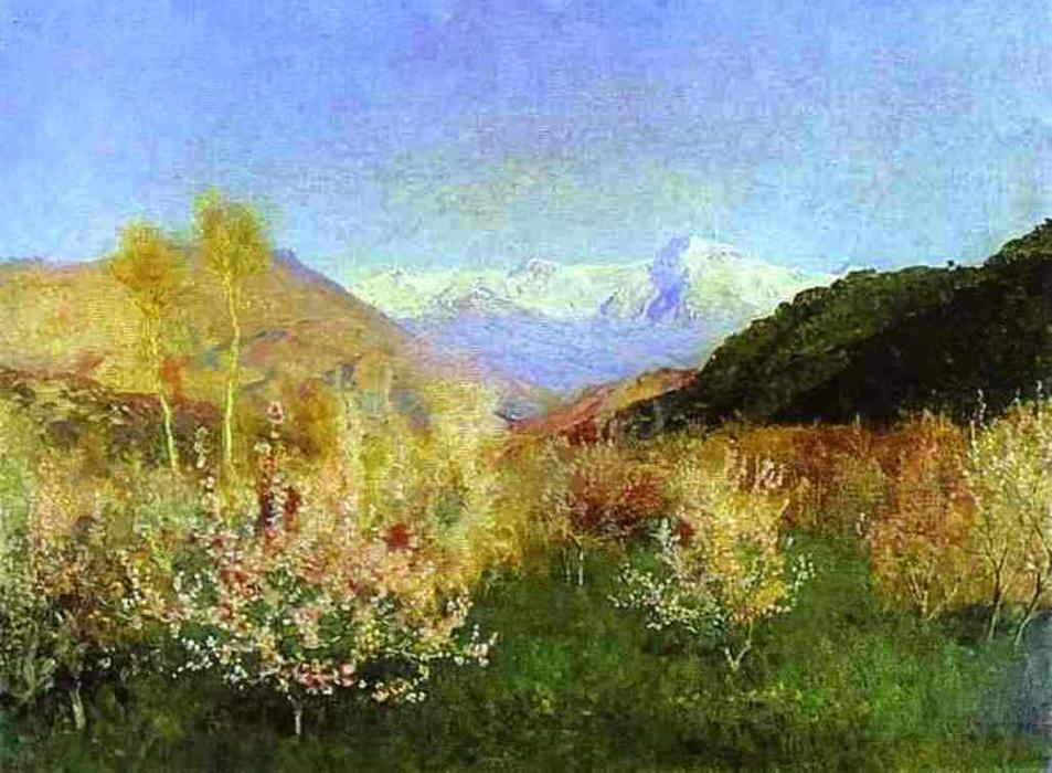 Order Museum Quality Copies | Springtime in Italy, 1890 by Isaak Ilyich Levitan (1860-1900, Russia) | ArtsDot.com