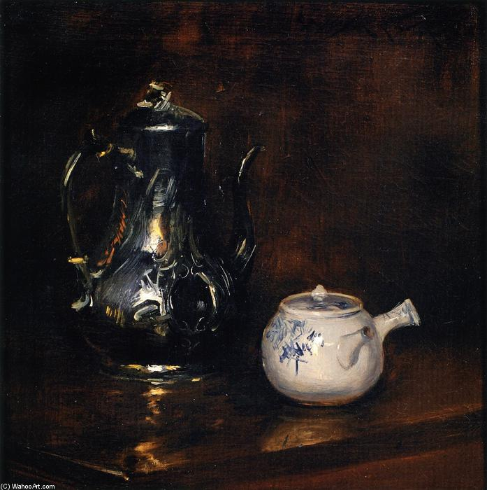 Still LIfe, Oil On Canvas by William Merritt Chase (1849-1916, United States)
