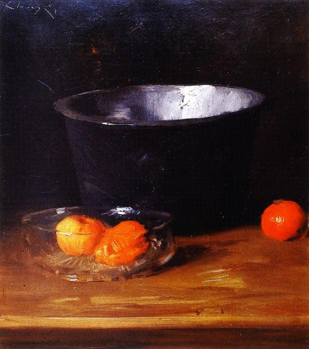 Still LIfe, Painting by William Merritt Chase (1849-1916, United States)