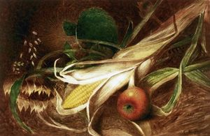 Charles Ethan Porter - Still LIfe with Corn