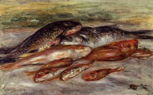 Pierre-Auguste Renoir - Still Life with Fish