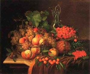 George Forster - Still Life with Fruit