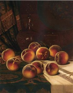 William Mason Brown - Still Life with Peaches