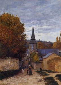Claude Monet - Street in Saint-Adresse