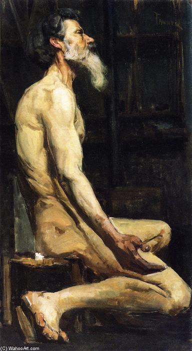 Study for Androcles, 1885 by Henry Ossawa Tanner (1859-1937, United States) | Painting Copy | ArtsDot.com