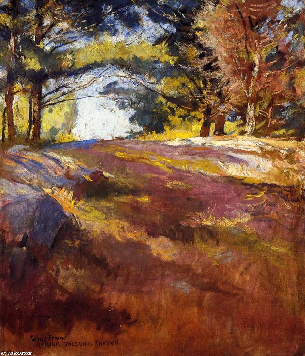 Study for 'On Bos'n's Hill, Oil On Canvas by Edmund Charles Tarbell (1862-1938, United States)