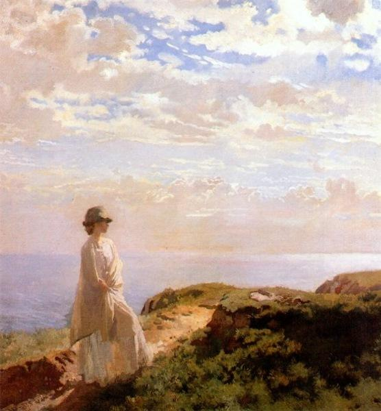 A Summer Afternoon by William Newenham Montague Orpen (1878-1931, Ireland)