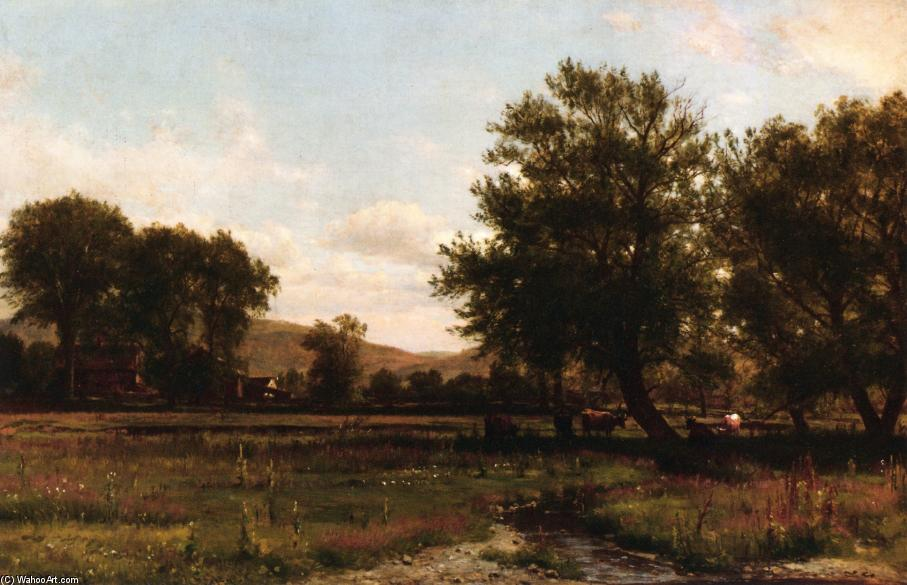 Summer Idle by Thomas Worthington Whittredge (1820-1910, United States) | Reproductions Thomas Worthington Whittredge | ArtsDot.com