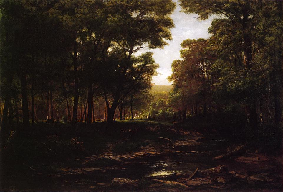 Buy Museum Art Reproductions : Summer in Scalp Level, 1881 by George Hetzel (1826-1899, France) | ArtsDot.com