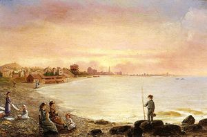 Conrad Wise Chapman - Sunrise at Saint Malo