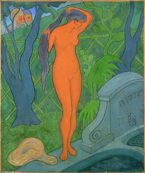 Suzanne et les vieillards, 1891 by Paul Ranson (1861-1909, France) | Museum Quality Copies Paul Ranson | ArtsDot.com