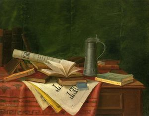 Nicholas Alden Brooks - Tabletop Still Life