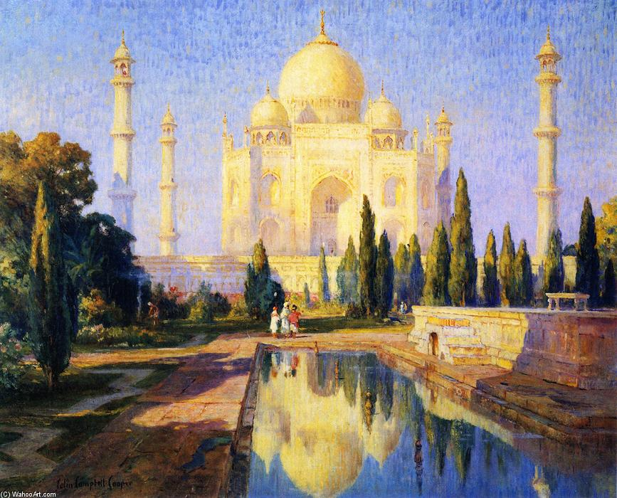 Taj Majal, Afternoon, 1913 by Colin Campbell Cooper (1856-1937, United States) | Museum Quality Copies Colin Campbell Cooper | ArtsDot.com