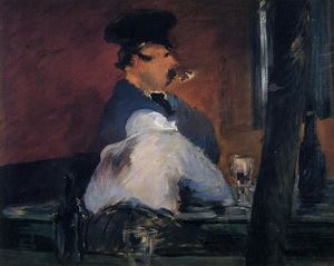 Edouard Manet - The Tavern (also known as Open Air Cabaret)
