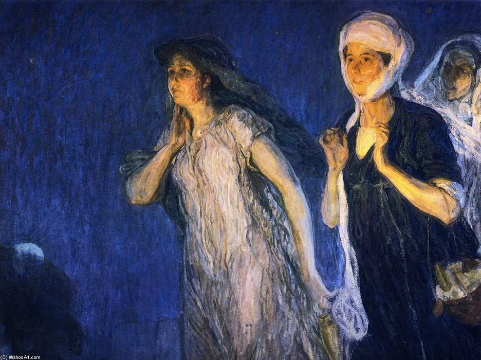 The Three Marys, Oil On Canvas by Henry Ossawa Tanner (1859-1937, United States)