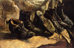 Vincent Van Gogh - Three Pair of Shoes