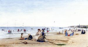 Conrad Wise Chapman - Trouville Beach