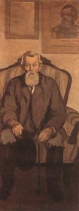 Jozsef Rippl Ronai - Uncle Rippl, an Admirer of Kossuth