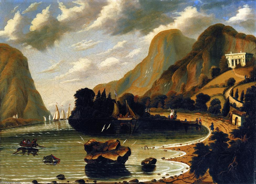 Underscliff, near Coldspring, Oil On Canvas by Thomas Chambers (1808-1869)
