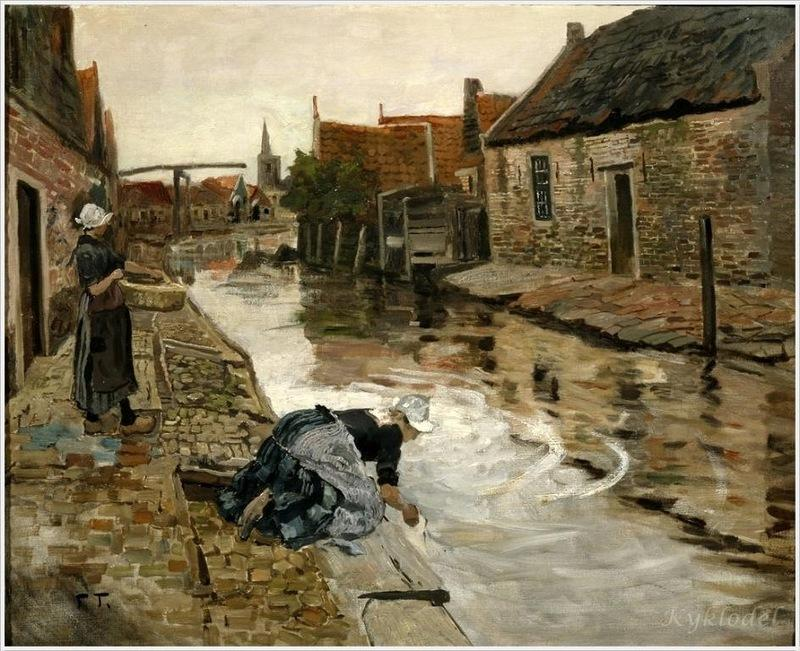 Untitled, 1906 by Frits Thaulow (1847-1906, Norway)